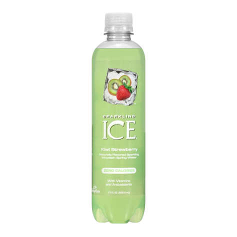 Picture of Sparkling ICE Kiwi Strawberry Flavored Sparkling Water  17 Fl Oz Bottle