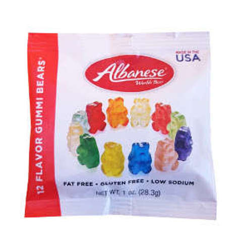 Picture of Albanese World's Best 12 Flavor Gummi Bears (48 Units)