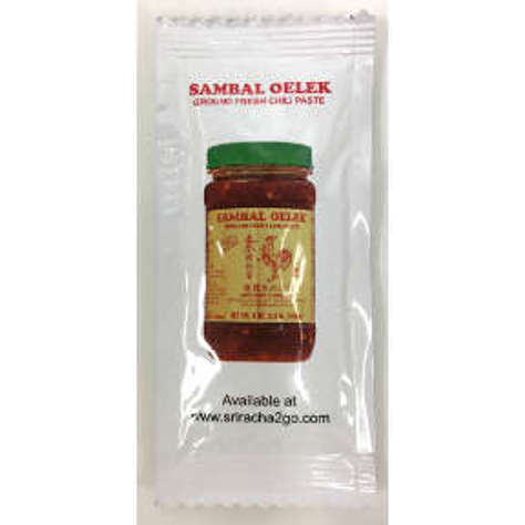 Picture of Huy Fong Sambal Oelek packets (147 Units)