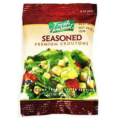 Picture of Fresh Gourmet Seasoned Premium Croutons (139 Units)