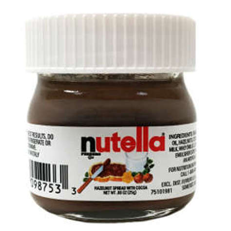Picture of Nutella Mini Glass Jar (20 Units)