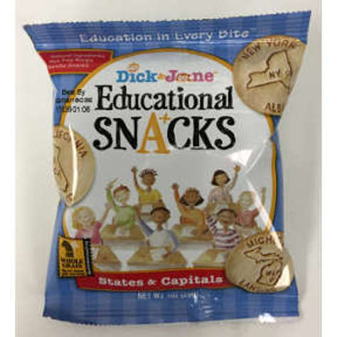 Picture of Dick & Jane Educational Snacks States & Capitals (51 Units)
