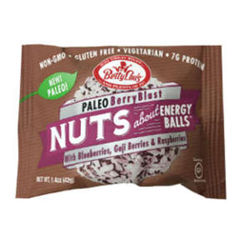 Picture of Betty Lou's Nuts about Energy Balls Paleo Berry Blast (12 Units)