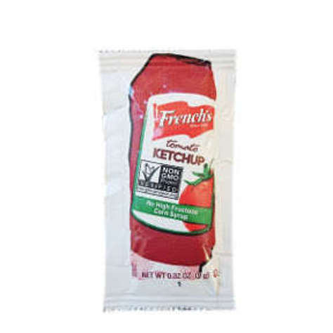 Picture of French's Tomato Ketchup 9 g Packet (313 Units)