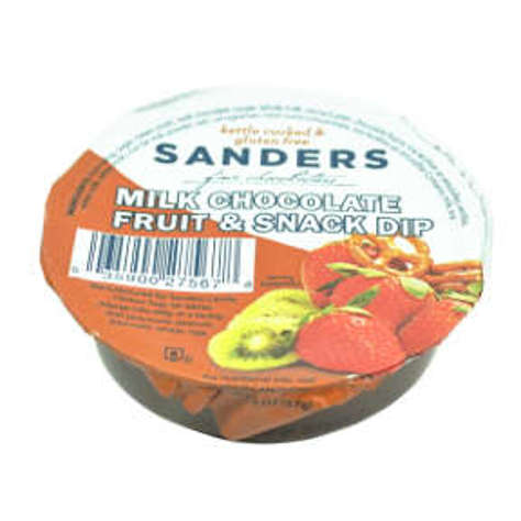 Picture of Sanders Milk Chocolate Fruit & Snack Dip Cup (20 Units)
