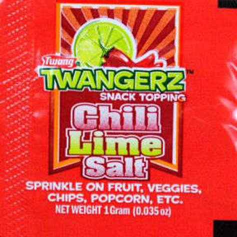 Picture of Twangerz Snack Topping Packet - Chili Lime Salt (250 Units)