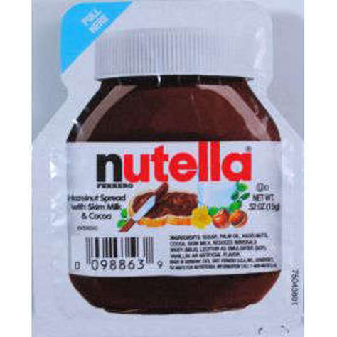 Picture of Nutella Hazelnut Spread .52 oz (60 Units)