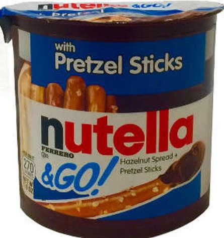 Picture of Nutella & Go! Hazelnut Spread & Pretzel Sticks (11 Units)