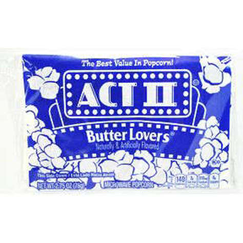 Picture of Act II Butter Lovers Popcorn (28 Units)