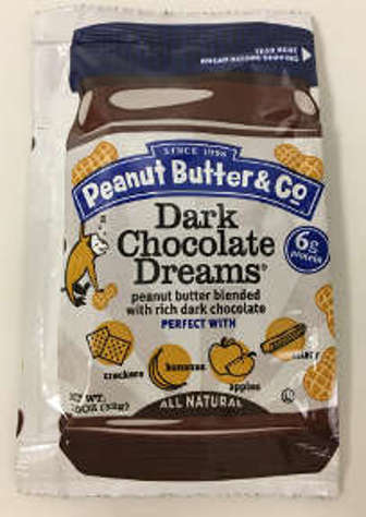 Picture of Peanut Butter & Co Dark Chocolate Dreams Squeeze Pack (1.15 oz) (33 Units)
