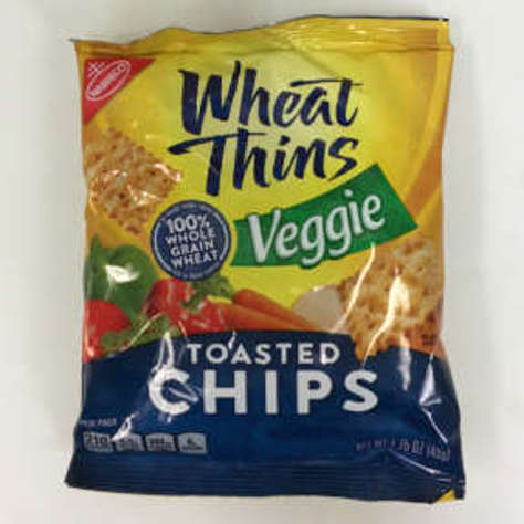 Picture of Nabisco Wheat Thins Toasted Veggie Chips (21 Units)