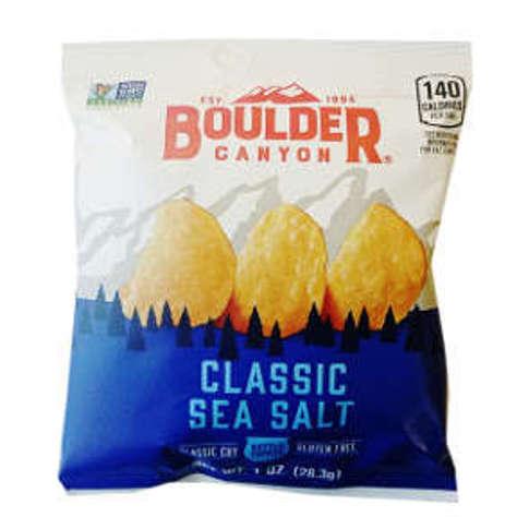 Picture of Boulder Canyon Potato Chips - Sea Salt (31 Units)
