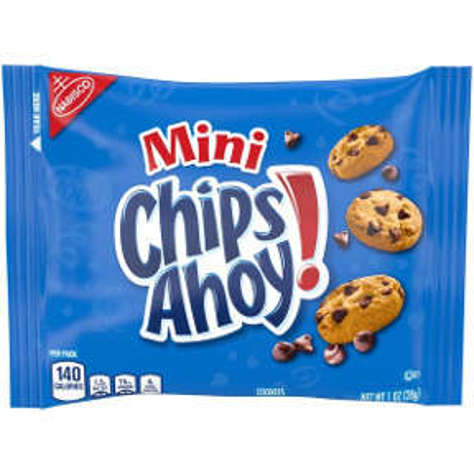 Picture of Nabisco Mini Chips Ahoy Cookies (27 Units)