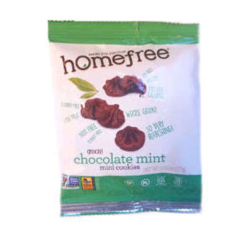 Picture of Homefree Gluten Free Chocolate Mint Mini Cookies (13 Units)