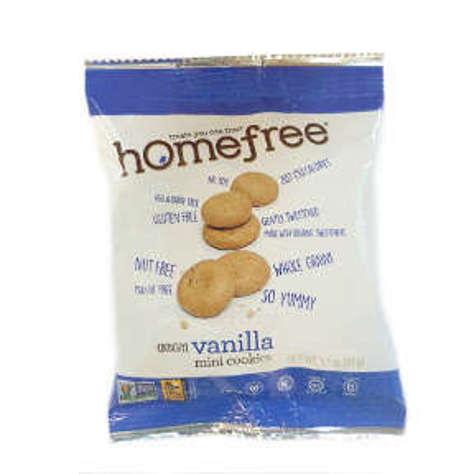 Picture of Homefree Gluten Free Vanilla Mini Cookies (11 Units)