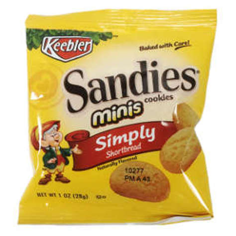 Picture of Keebler Mini Sandies Shortbread Cookies (38 Units)