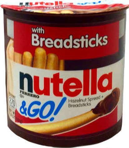 Picture of Nutella & Go! Hazelnut Spread & Bread Sticks (13 Units)