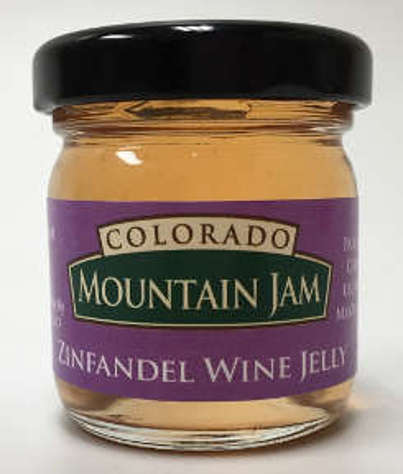 Picture of Colorado Mountain Jam Zinfandel Wine Jelly (12 Units)