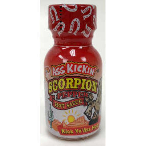 Picture of Ass Kickin Scorpion Pepper Hot Sauce (18 Units)