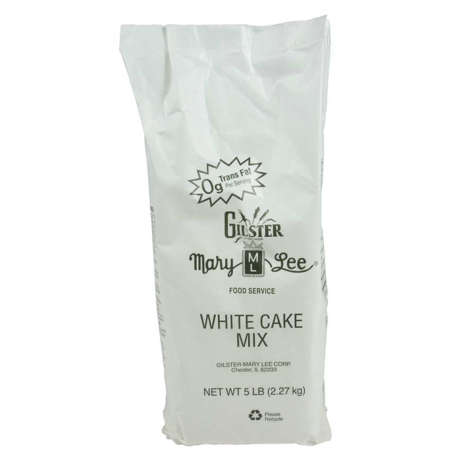 Picture of Gilster-Mary Lee White Cake Mix  5 Lb Box  6/Case