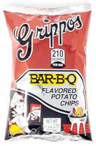 Picture of Grippos BBQ Potato Chips 1.5 oz, 24/case