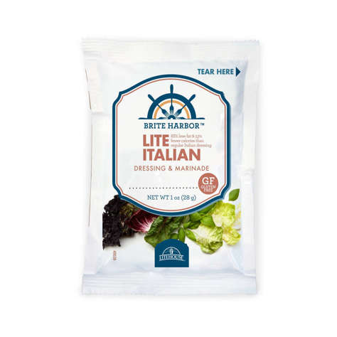 Picture of Brite Harbor Lite Italian Dressing, Packets, 1 Fl Oz Package, 102/Case