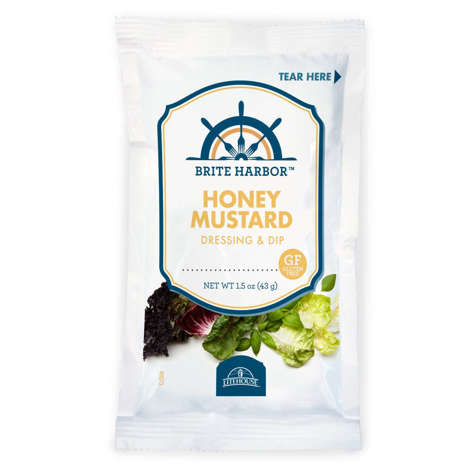 Picture of Brite Harbor Honey Mustard Dressing, Packets, 1.5 Fluid Ounce, 1 Ct Package, 60/Case