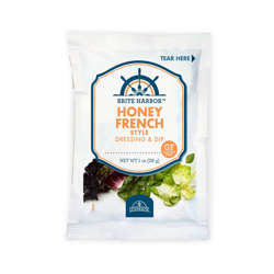Picture of Brite Harbor French Honey Dressing, Packets, 1 Fl Oz Package, 102/Case