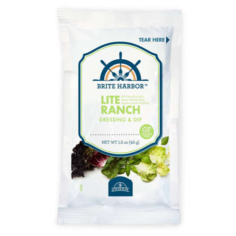 Picture of Brite Harbor Lite Ranch Dressing, Packets, 1.5 Fl Oz Package, 60/Case