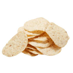 Picture of Tostitos Tortilla Chips, Reduced Fat, Large Single-Serve, Whole Grain, 1.45 Oz Bag, 64/Case