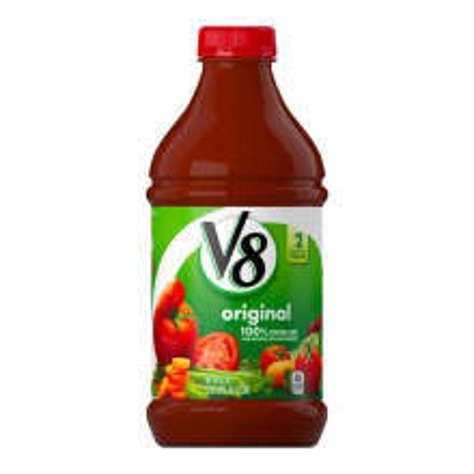 Picture of V8 100% Vegetable Juice, 46 Fl Oz Bottle, 6/Case