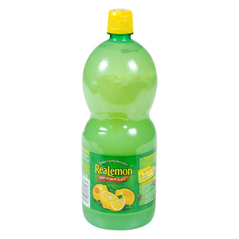 Picture of Realemon Lemon Juice, Shelf-Stable, 48 Fl Oz Bottle, 8/Case