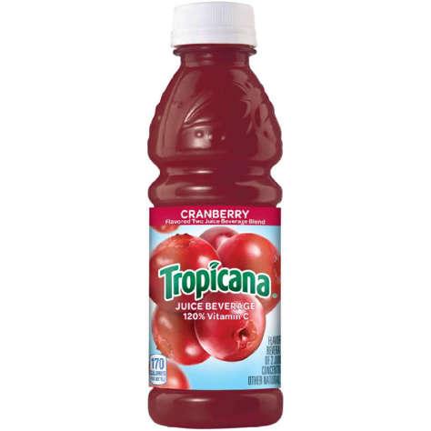 Picture of Tropicana Cranberry Juice Cocktail, Shelf-Stable, Single-Serve, 10 Fl Oz Each, 24/Case