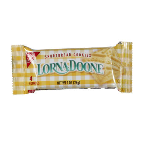 Picture of Lorna Doone Shortbread Cookies, Shelf-Stable, Individually Wrapped, 4 Ct Bag, 120/Case