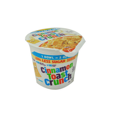 Picture of Cinnamon Toast Crunch Cup Cinnamon Toast Crunch Cereal, 2 Oz Each, 60/Case
