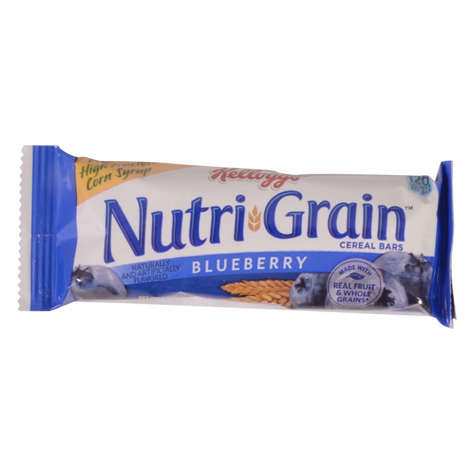 Picture of Kelloggs Nutri-Grain Blueberry Cereal Bars, 1.3 Ounce, 16 Ct Box, 3/Case