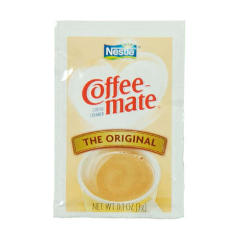 Picture of Nestle Non-Dairy Powdered Creamer Packets, Shelf-Stable, Single-Serve, 3 Gram, 50 Ct Box, 20/Case