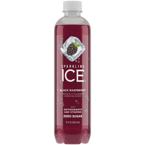 Picture of Sparkling Ice Black Raspberry Flavored Sparkling Water, No Calorie, 17 Fl Oz Bottle, 12/Case
