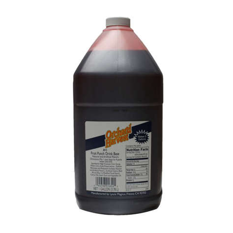 Picture of Orchard Harvest Fruit Punch Drink Base  4 to 1 Ratio  Shelf-Stable  1 Gal, 4/Case