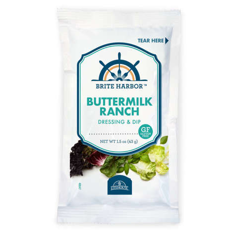 Picture of Brite Harbor Ranch Dressing, Packet, 1.5 Fl Oz Package, 120/Case